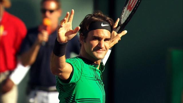 ROLEX MINUTE: Federer's incredible year continues