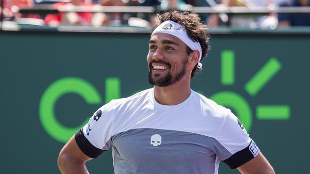 Fognini non recupera, niente Coppa Davis