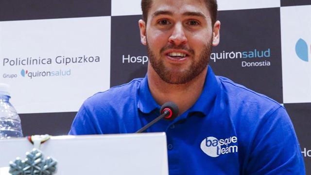 Lucas Eguibar dice que llegará al número uno por su entrenador fallecido