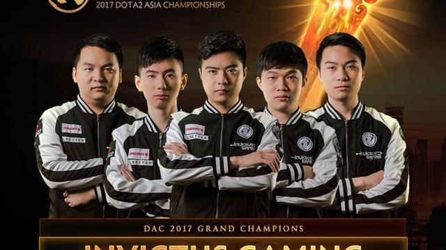 Invictus Gaming выиграла Asia Championship-2017 по Dota 2