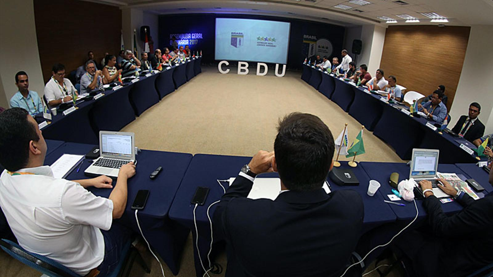 Fisu vp luciano cabral re elected president of cbdu - University league tables french ...