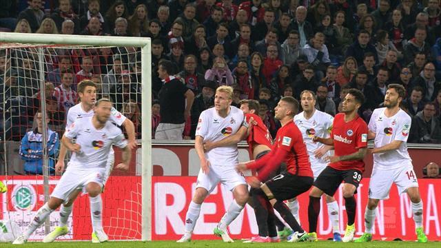Høydepunkter: FC Köln - Eintracht Frankfurt