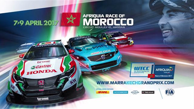 Сезон WTCC-2017 стартует в Марокко