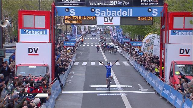 Превосходная борьба на финише третьего этапа «Тура Cтраны Басков», но только за второе место