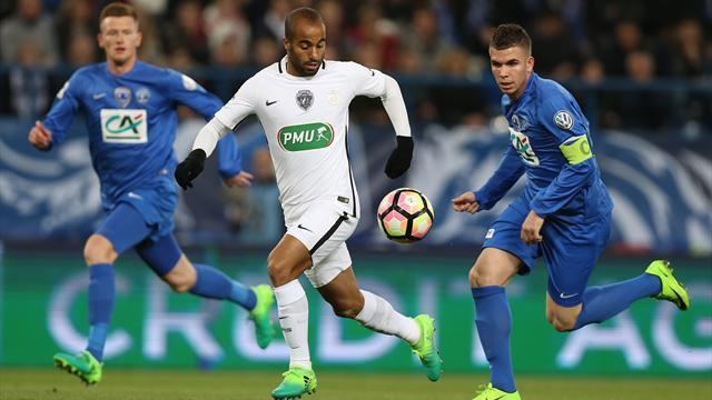 Avranches a perdu 4-0 face au PSG, mais repart avec un joli cadeau de 200 000 euros