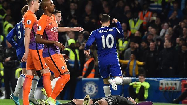 Premier League, Chelsea-Manchester City: KO de Guardiola y media liga para Conte (2-1)