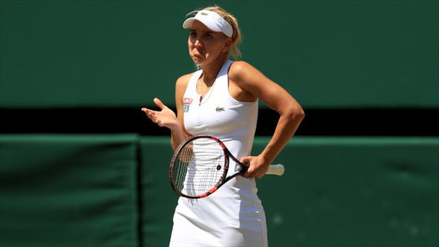 Fanny Stollar stuns Indian Wells winner Vesnina to advance in Charleston