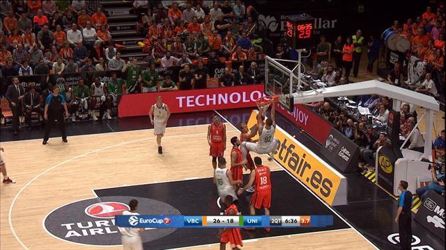 EuroCup Final: Valencia Basket  - Unicaja Malaga (Özet)
