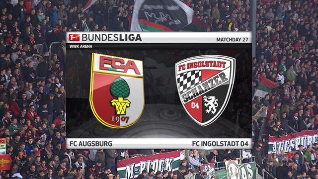 Høydepunkter : Augsburg - Ingolstadt