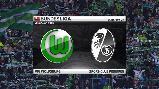 Høydepunkter: Wolfsburg - Freiburg