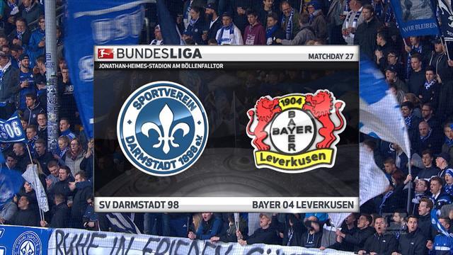 Høydepunkter: Darmstadt - Leverkusen