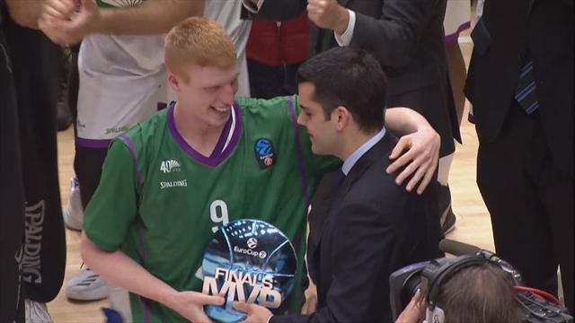 EuroCup-MVP: Diaz krönt Malaga zum Champion