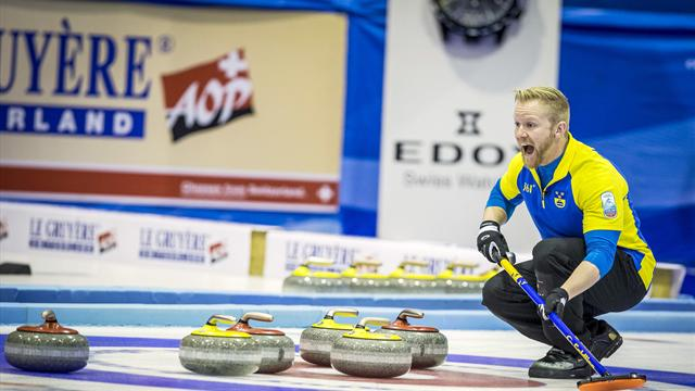 Sweden reach World Championship play-offs after victory over Switzerland