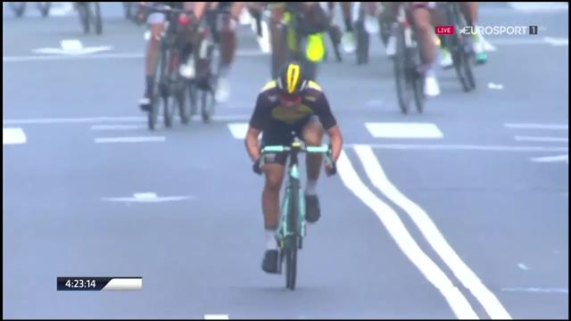 Video Vuelta Al Pa 237 S Vasco 2017 Primož Roglič Gana La