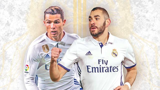 Cette saison, Ronaldo est loin d'être seul au Real