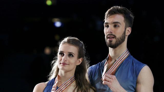 """Guillaume Cizeron et Gabriella Papadakis : """"Malgré la médaille d'argent, on est très fier"""""""