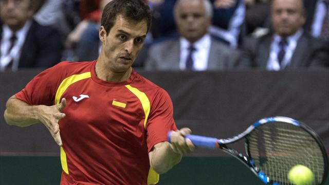 Copa Davis, Djokovic-Albert Ramos: Fueron habas contadas 6-3, 6-4 y 6-2