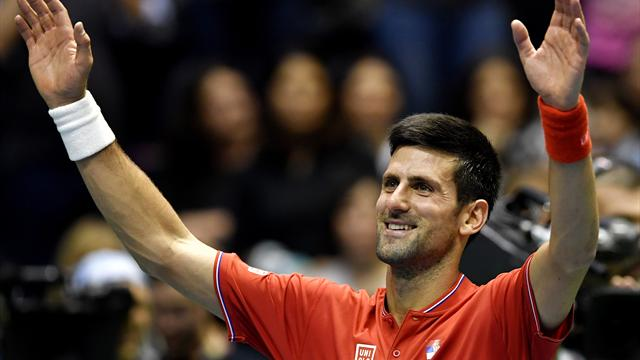 Djokovic helps Serbia take 2-0 lead over Spain in Davis Cup quarters