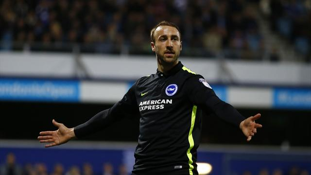 Brighton beat QPR 2-1 to return to Championship summit