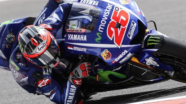 La pioggia rovina le FP3. Valentino Rossi, Dovizioso e Lorenzo costretti alla Q1