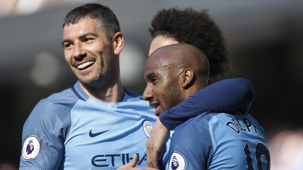 Sergio Aguero Fabian Delph On Target As Bravo Blunders Again In Manchester Citys Win Over Hull