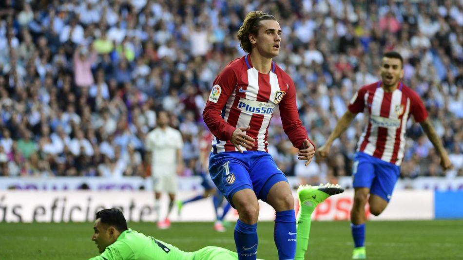 Antoine Griezmann a égalisé pour l'Atlético face au Real