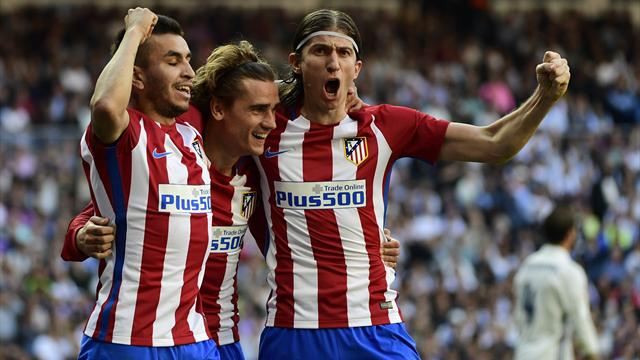 Griezmann strikes late to deny Real on derby day