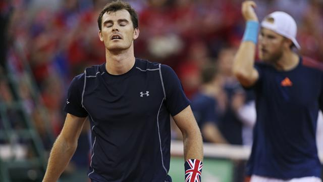 France knock Great Britain out of Davis Cup to make semi-finals