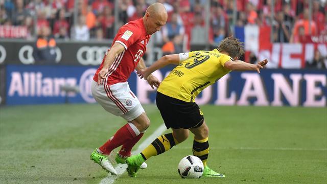 Klassiker Bayern e monster Robben: il Borussia Dortmund è travolto 4-1