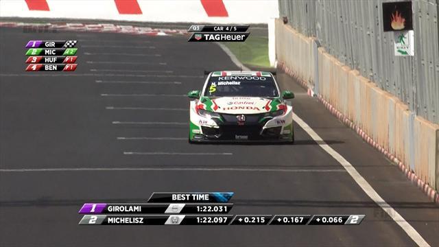 Honda's Monteiro takes pole in Marrakech