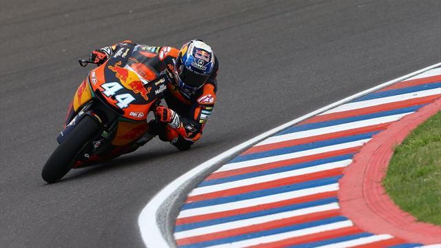Moto2: Miguel Oliveira in pole, Morbidelli è secondo per un soffio