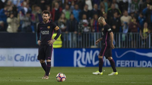 Le Barça peut s'en mordre les doigts