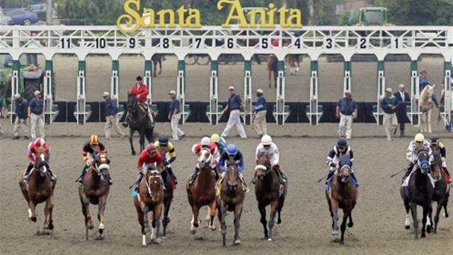 Gormley triunfa en Santa Anita