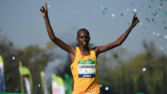 Le Kényan Lonyangata remporte le Marathon de Paris
