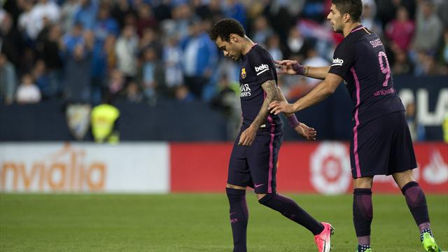 Neymar misses Clasico after Spanish league imposes ban