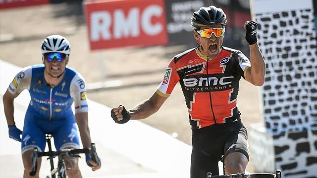 Van Avermaet wins fastest ever Paris-Roubaix