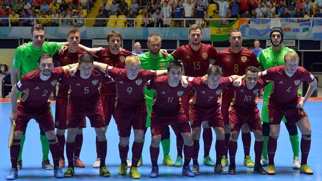 Российская Федерация обыграла Словакию ипробилась начемпионат Европы помини-футболу