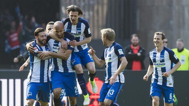 Hertha beats Augsburg to end 3-game losing run in Bundesliga