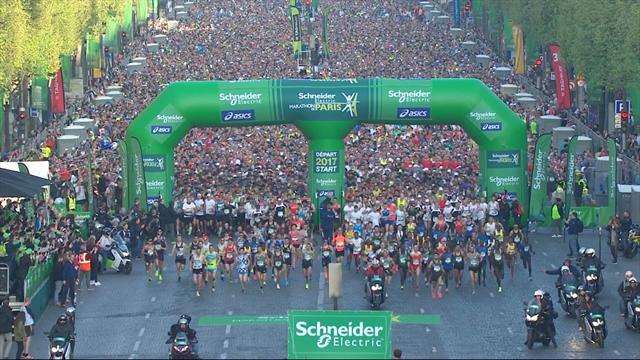 Athlétisme - Marathon de Paris : Large domination du Kenya