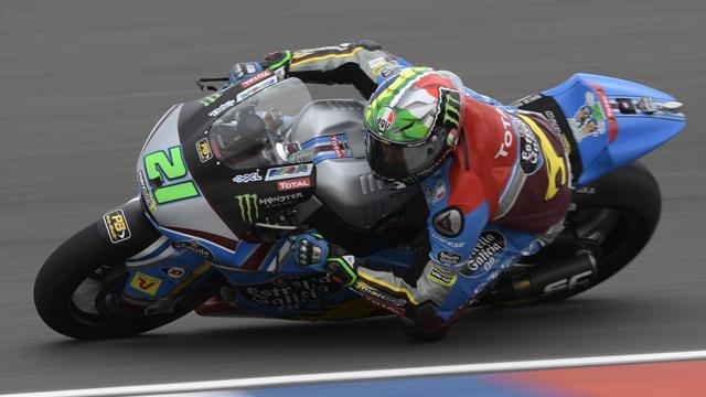 Morbidelli gewinnt Moto2, Márquez fliegt heftig ab