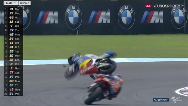 Moto2: Riesenpech! Márquez fliegt in der letzten Runde raus