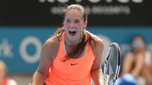 Kasatkina wins maiden title in Charleston