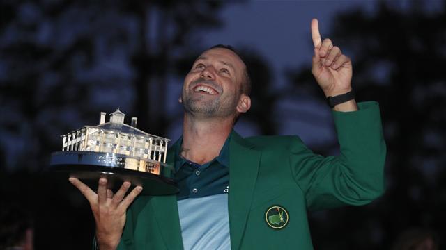 El emocionante discurso con en el que Sergio García se enfundó la ansiada chaqueta  verde