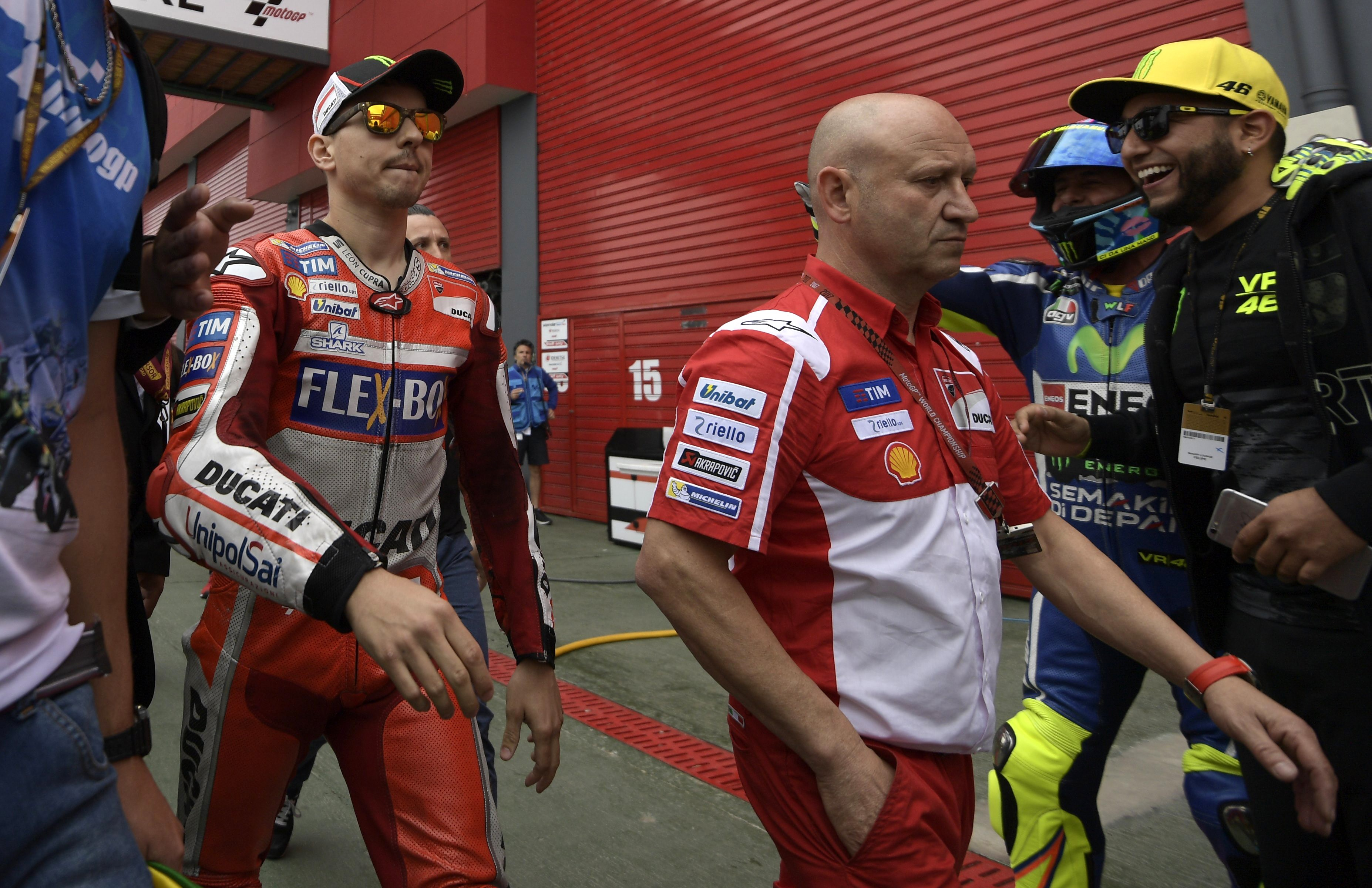 Jorge Lorenzo (Ducati Team) au Grand Prix d'Argentine 2017