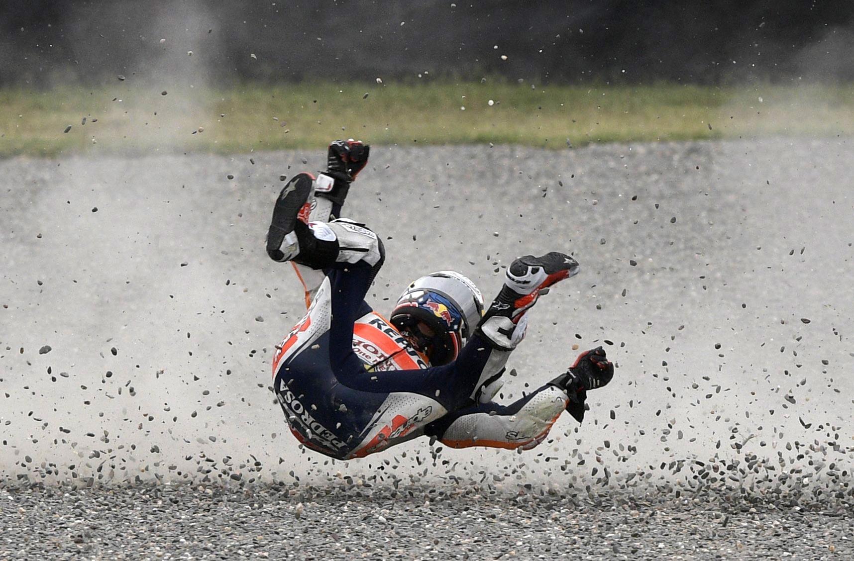 Dani Pedrosa (Honda HRC) au Grand Prix d'Argentine 2017