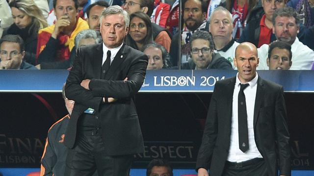 Ancelotti : «Zidane a changé ma vision du foot»