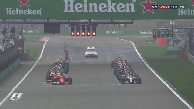 Horarios del Gran Premio de China 2018