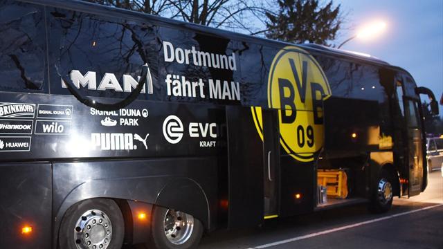 Dortmund game postponed after explosion at team bus injures Bartra