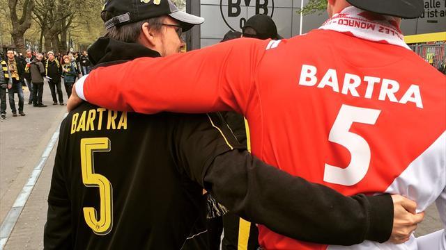 Avant le match, la fraternité a rempli les rues de Dortmund entre supporters du Borussia et de l'ASM