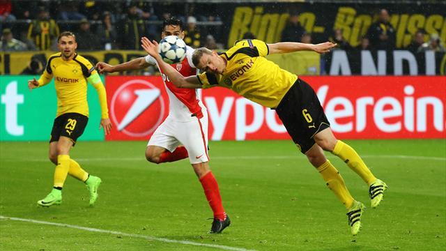Champions: Monaco-Borussia Dortmund 3-1